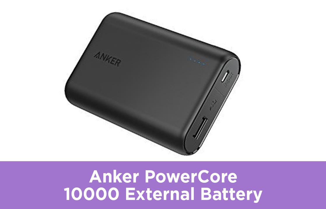Anker PowerCore 10000 External Battery