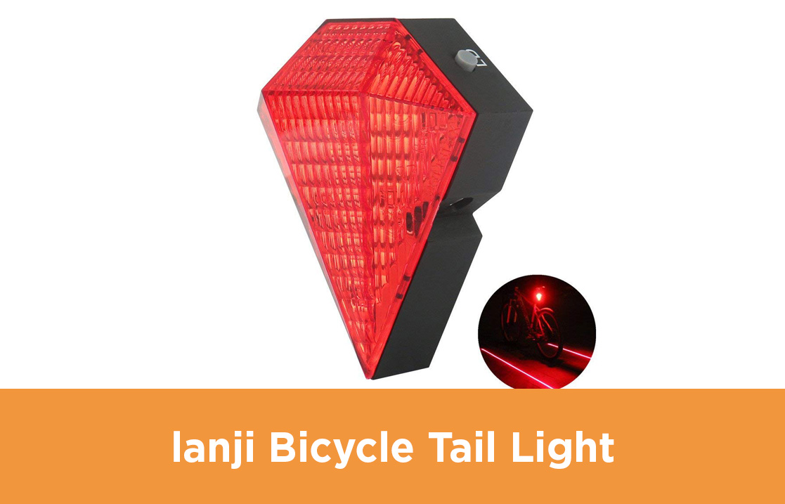 lanji Bicycle Tail Light