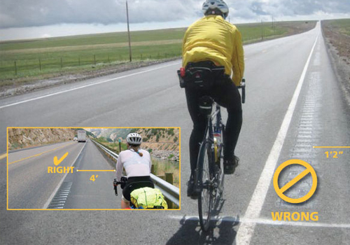 Cycling and Rumble Strips