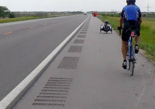 proper rumble strip installation