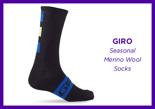 Giro Seasonal Merino Wool Socks