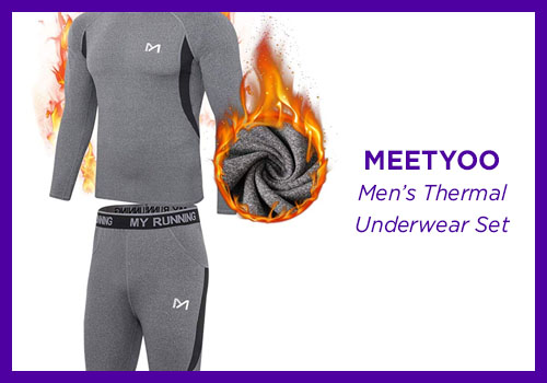 MEETYOO Men's Thermal Underwear Set