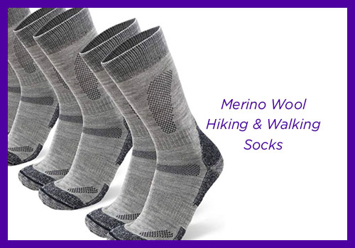 Merino Wool Hiking & Walking Socks
