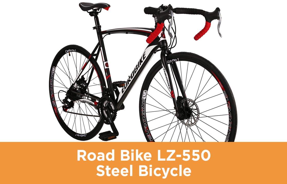 Road Bike LZ-550 Steel Bicycle