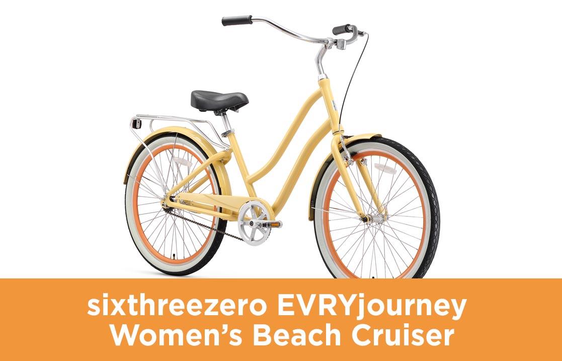 sixthreezero EVRYjourney Women's Beach Cruiser